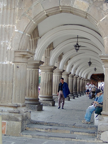 Arches of the City Hall building