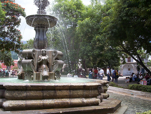 Fountain in Main Square
