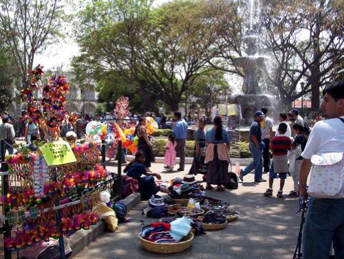 Antigua Guatemala Main Plaza