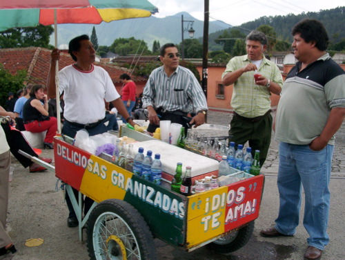 Shaved-ice cart