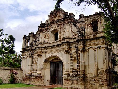 San José el Viejo ruins in Antigua