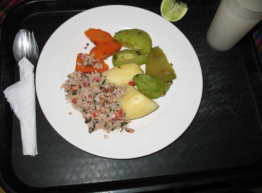Guatemalan meat salad: Salpicón image by Rudy Girón + http://photos.rudygiron.com