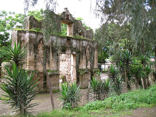 Back door for San Jeronimo Ruins