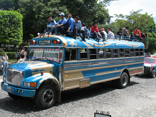 Guatemala's Public Transportation