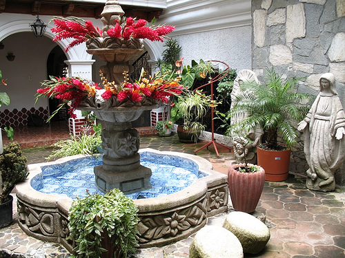 Fountain of Hotel Centro Colonial