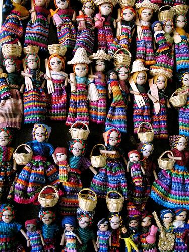 Guatemalan dolls