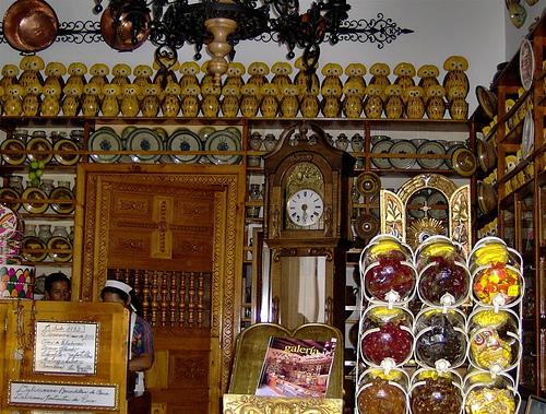 Doña María Gordillo's candy