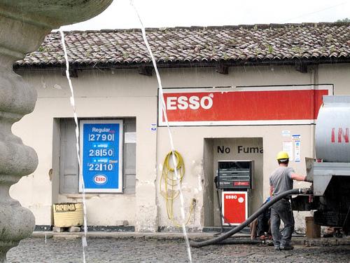 Esso in Antigua Guatemala