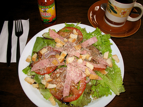 Chef salad from Café Concepción
