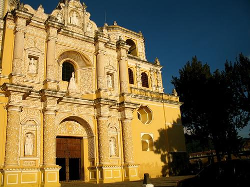 Façade of Iglesia de la Merced