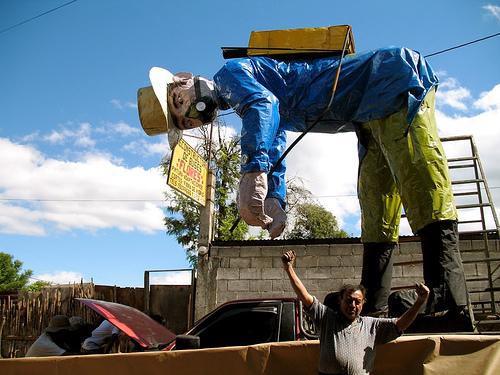 McGyver's campesino float