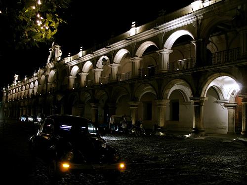 Palacio de los Capitanes in Antigua