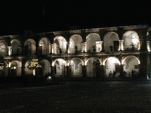 Municipalidad Building in Antigua Guatemala