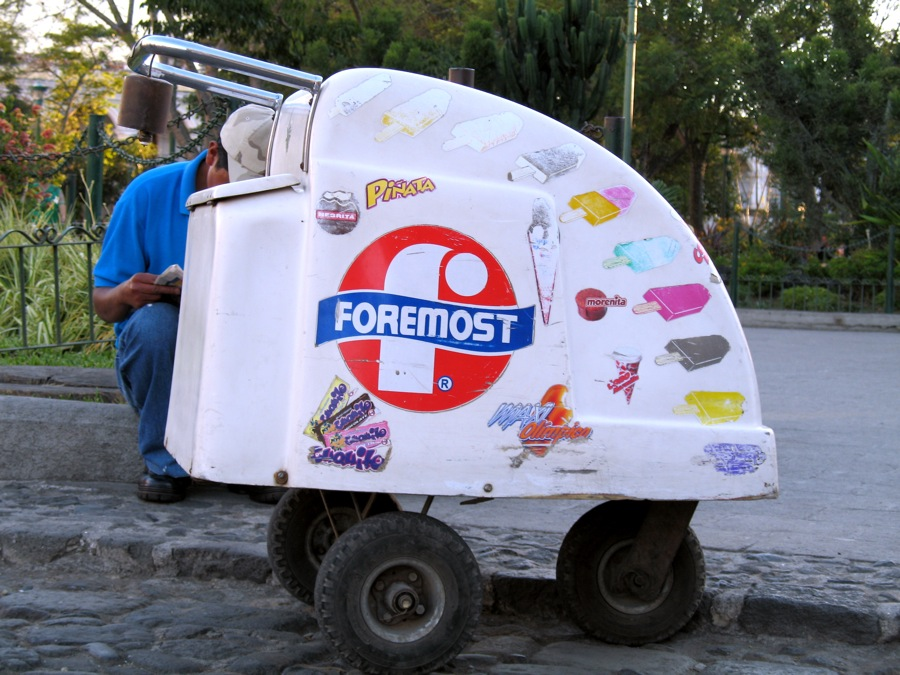 Foremost Ice cream handcart by Rudy Giron