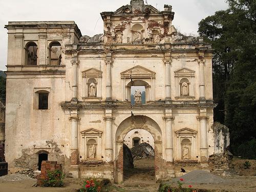 Ruins of Nuestra Señora de los Remedios Church