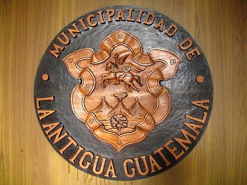 La Antigua Guatemala's Emblem