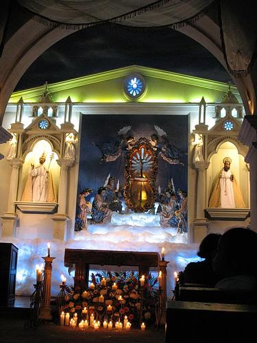 Altar Inside San Pedro Las Huertas Church
