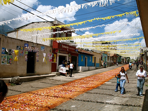 Guatemalan Fair: The Sawdust Processional Carpets