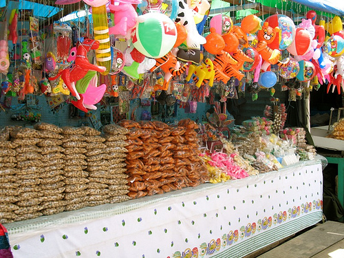 Typical Guatemalan Fair Stand