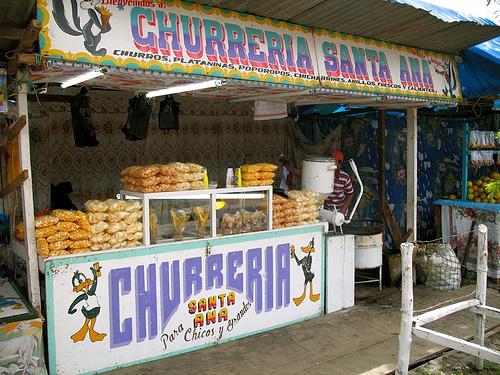 Guatemalan Churreria Stand