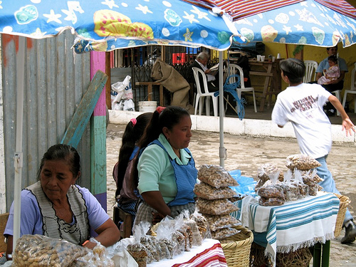 Peanuts and Seeds Guatemalan Fair Stand