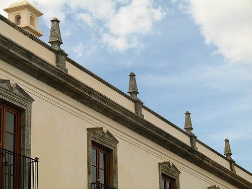 Architectonic Design Elements in La Antigua Guatemala