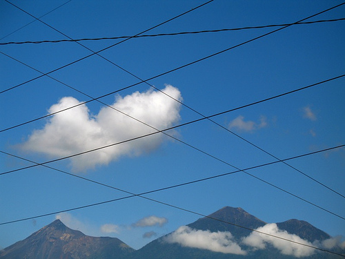 Wire Grid and Volcanoes