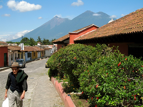 La Antigua Guatemala's Main Exit