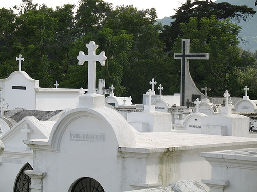 Many Kinds of Crosses in San Lázaro Cemetery