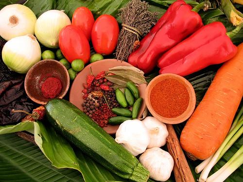 Guatemalan Kitchen Colors