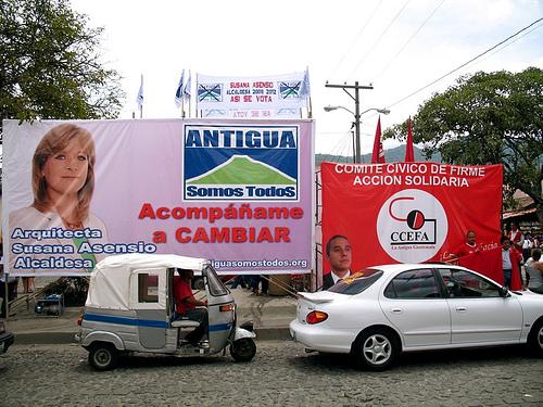 New Mayor for La Antigua Guatemala