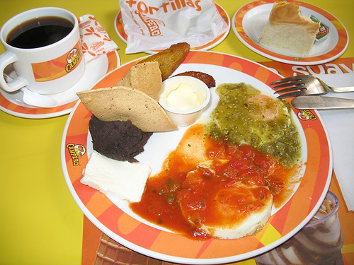 Guatemalan Breakfast