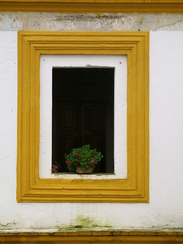 Framed Head in Compañí­a de Jesús