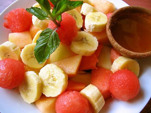 Tropical Fruits Guatemalan Breakfast