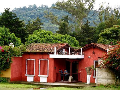 Typical Vista from La Antigua Guatemala