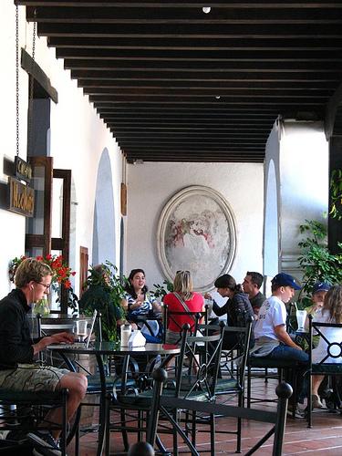 Cafe Micho's at El Jaulón Building