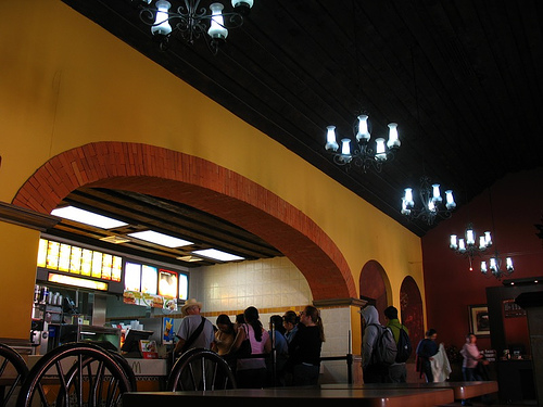 The Arches of McDonald's in La Antigua Guatemala