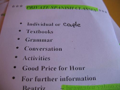 Private Spanish Classes in La Antigua Guatemala