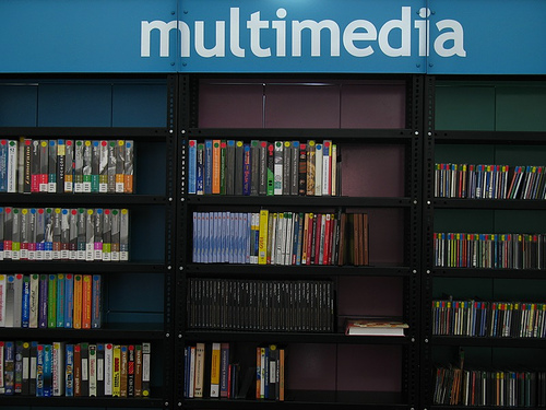 Multimedia Section at the Compañí­a de Jesús Library