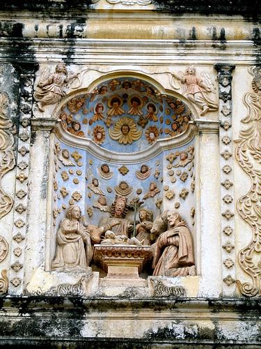 Nicho de Nacimiento de la iglesia de belén