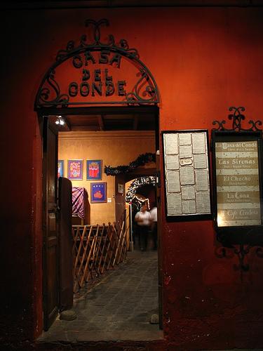 Casa del Conde Doorway
