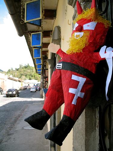 Devil Piñata from Guatemala