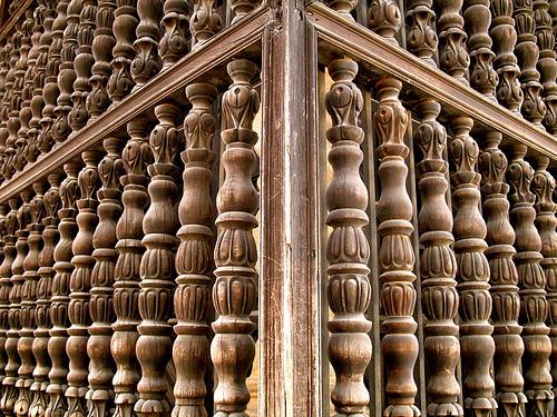 Wooden Window Detail