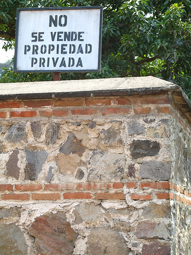 Private Property Not For Sale