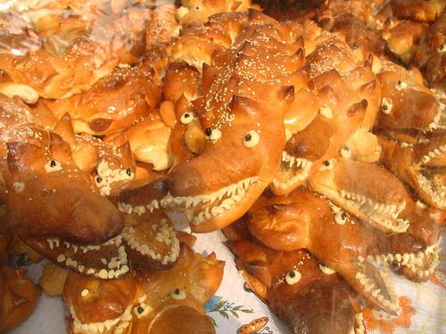 Guatemalan Lagarto (crocodile) Bread