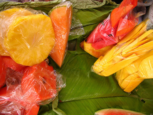Guatemalan Fresh Fruit Snacks