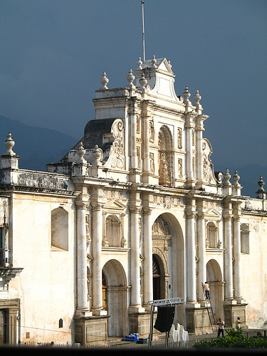 Façade of Cathedral of La Antigua Guatemala