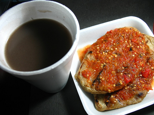 Guatemalan Cuisine: Atol de Habas and Dobladas