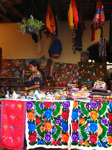 Colorful Guatemalan Textiles