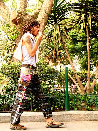Present-day Guatemalan Hippie
